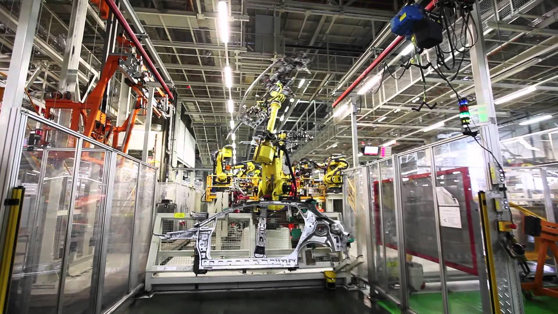 Allt fler bilfabriker satsar på LED lysrör